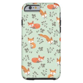 Foxy Blumenmuster Tough iPhone 6 Hülle