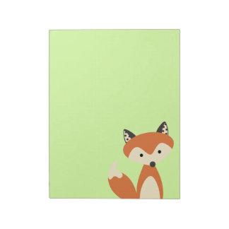 Foxy Fox Notizblock