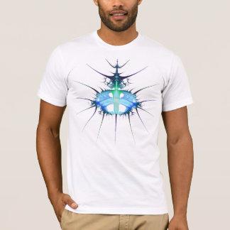 frac blaues alien-Shirt T-Shirt