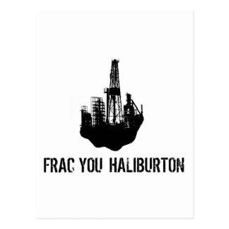frac Sie Haliburton Postkarte