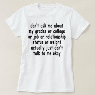 fragen Sie mich nicht über das T-Shirts.png meiner T-Shirt
