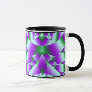Fraktal-Fenster Tasse
