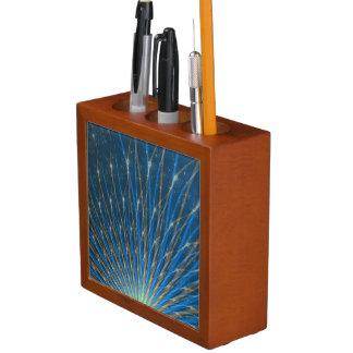 Fraktal-Feuerwerke Stifthalter
