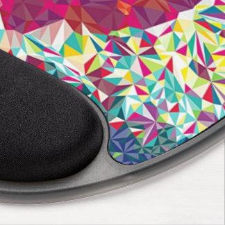 Fraktal-Herz Gel Mouse Pad