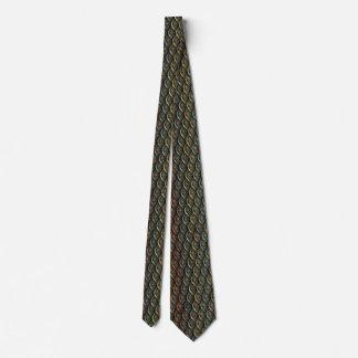 Fraktal-Krawatte - Mehrfarben Krawatte