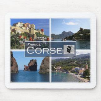 Franc Frankreich - Corse - Korsika. Calvi - Osani Mousepad
