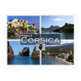Franc Frankreich - Corse - Korsika - Postkarte