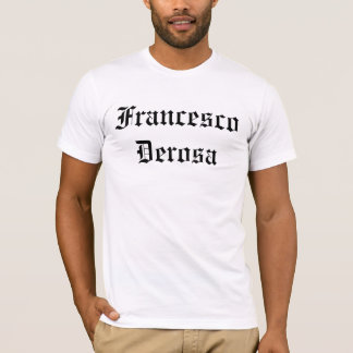 Francesco Derosa Clothing T-Shirt