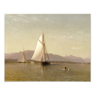 Francis Augustus Silva - der Hudson beim Tappan Fotodruck