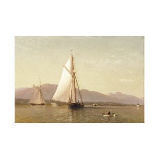 Francis Augustus Silva - der Hudson beim Tappan Leinwanddruck