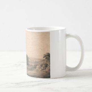 Francis Towne - Oakhampton Schloss Kaffeetasse