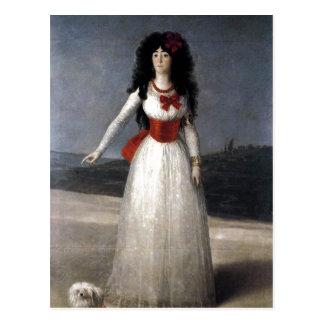 Francisco de Goya Espa? ol: Duquesa de Alba Te Postkarte
