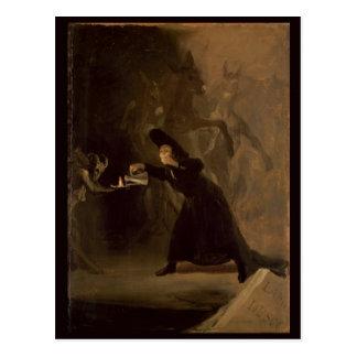Francisco Jose de Goya y Lucientes | EL Hechizado Postkarte