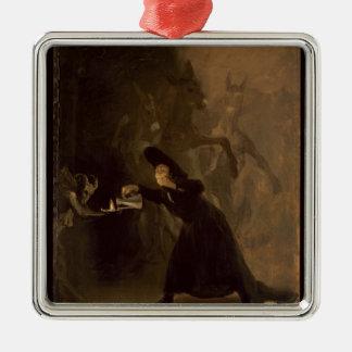 Francisco Jose de Goya y Lucientes   EL Hechizado Silbernes Ornament