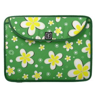 Frangipanis-Blumen15 Zoll Macbook Prohülsen Sleeve Für MacBooks