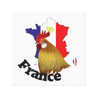 Frankreich, France, Francia Leinwand