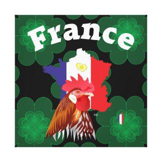 Frankreich, France, Francia Leinwand Gespannter Galeriedruck