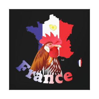 Frankreich, France, Francia Leinwand Leinwand Druck