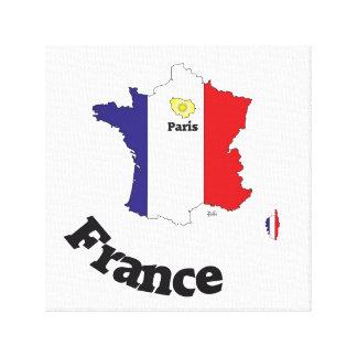 Frankreich, France, Francia Leinwand Leinwand Drucke