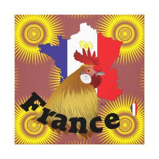 Frankreich, France, Francia Leinwand Leinwanddruck