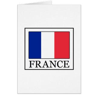 Frankreich Karte
