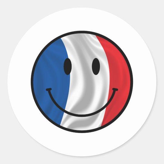 Frankreich Runder Aufkleber