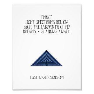 Franse - Poesie 8,5 x 11 Fotodruck