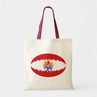 Französisch-Polynesien-Gnarly Flaggen-Tasche