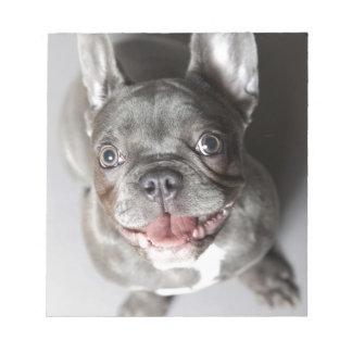 Französische Bulldogge Memo Notiz Pad