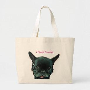 fa67385c70290 Französische Bulldoggen-Taschen-Tasche Jumbo Stoffbeutel