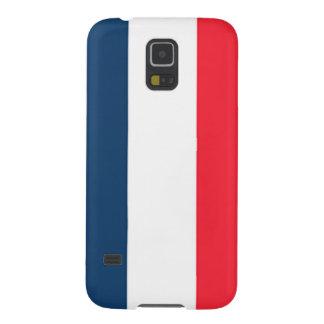 Französische Flagge Galaxy S5 Hülle