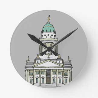 Französischer Dom Berlin Runde Wanduhr