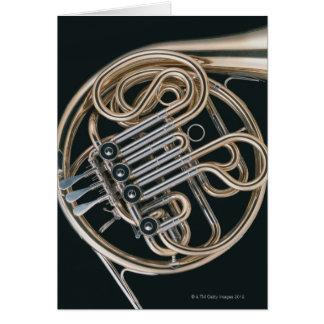 Französisches Horn Karte