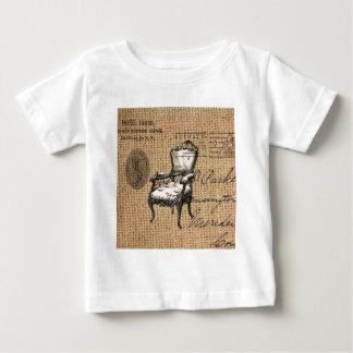 französisches Land scripts Leinwand Baby T-shirt
