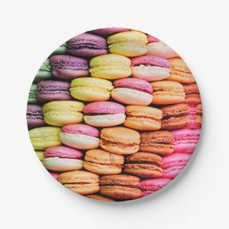 Französisches macaron pappteller
