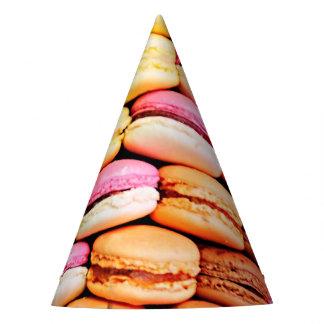 Französisches macaron partyhütchen