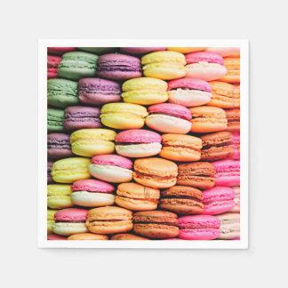 Französisches macaron servietten