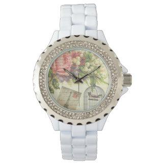 Französisches Thema-Vintage Paris-Uhr Uhr