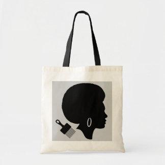 FRAU MIT AFRObudget-Taschen-Tasche Tragetasche