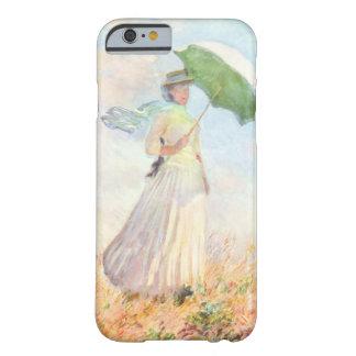 Frau mit einem Sonnenschirm Barely There iPhone 6 Hülle