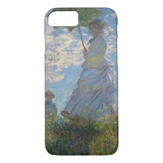 Frau mit einem Sonnenschirm - Madame Monet und ihr iPhone 8/7 Hülle