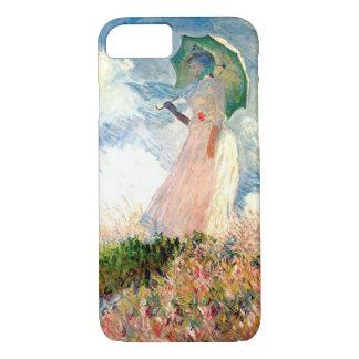 """""""Frau mit Sonnenschirm-Promenade Monet """" iPhone 8/7 Hülle"""