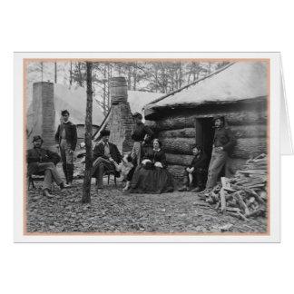 Frauen des zivilen Krieges, Weinbrand-Station, Karte