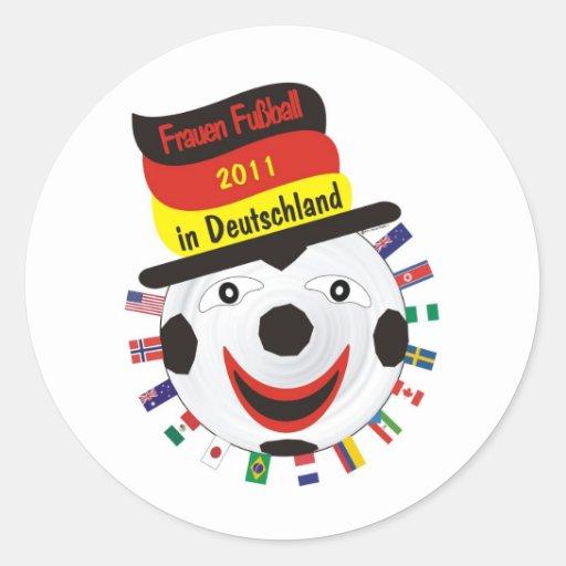 Frauen Fussball 2011 Germany Sticker