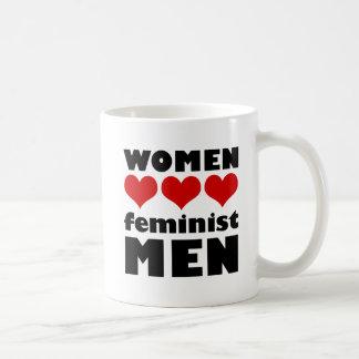 Frauen-Liebe-feministische Mann-Tasse Tasse