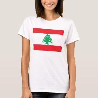 Frauen-T-Shirt mit Flagge vom Libanon T-Shirt