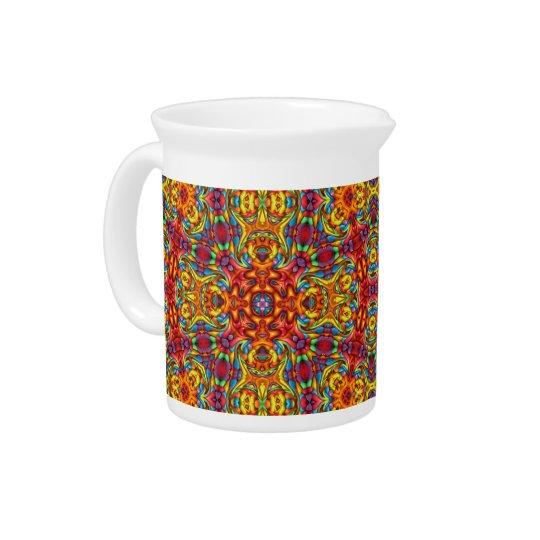 Freaky Tiki Kaleidoskop-Porzellan-Krüge Getränke Krug
