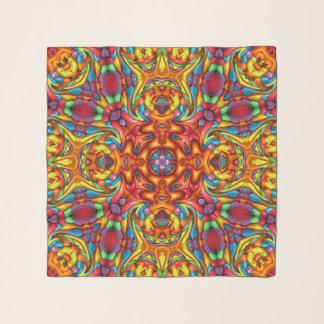 Freaky Tiki Vintager Kaleidoskopchiffon-Schal Schal