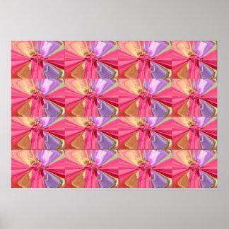 Freches Knotts - Diamanten, Schmetterlinge der Poster