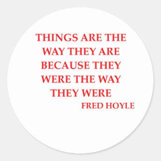 Fred hoyle Zitat